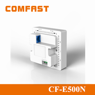 2015 New Arrival Comfast 300Mbps Wireless Wall Mount Access Point CF-E500N 802.11N Wireless Indoor 300M In Wall AP DC 12V 1.5A