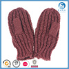 Acrylic Warm Winter Knit Mitten Lady
