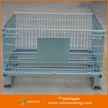 cheap metal wire mesh container used for storage