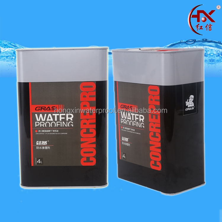 4L Permeable water absorbing agent for concrete waterproofing