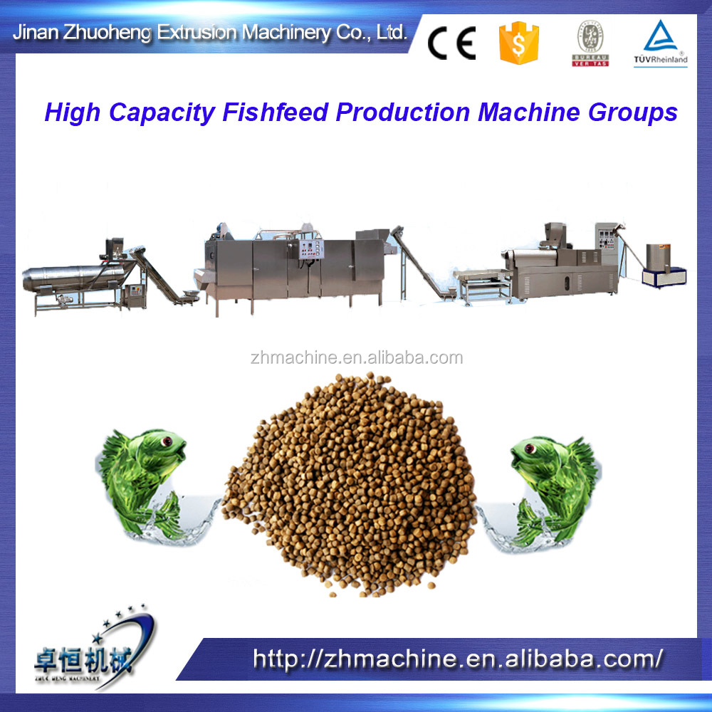 Fresh water fish feed extruder