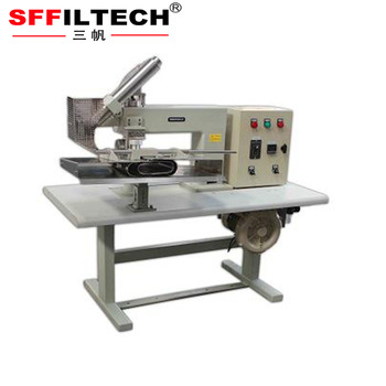 top quality semi-automatic filter bag filter tube welding machine