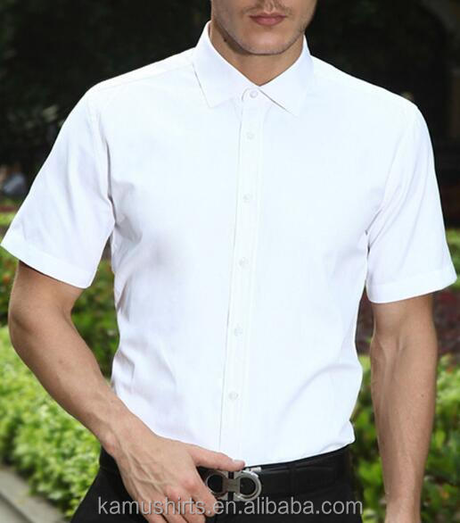 Bamboo mens shirts white bamboo dress shirts short sleeve Buy white dress shirt