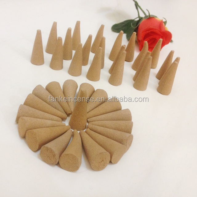 Unscented Machine-made Natural Color Incense Cone
