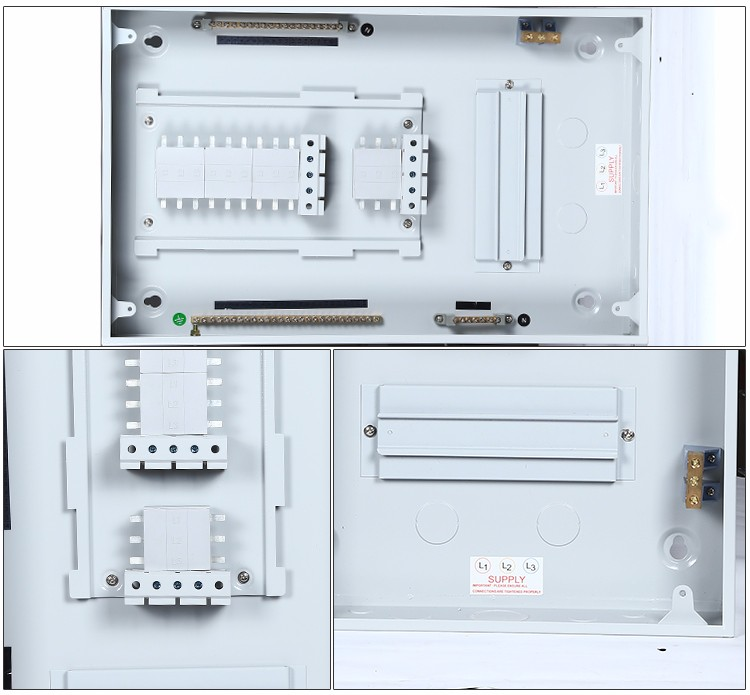 Three phase India din rail type separate distribution box