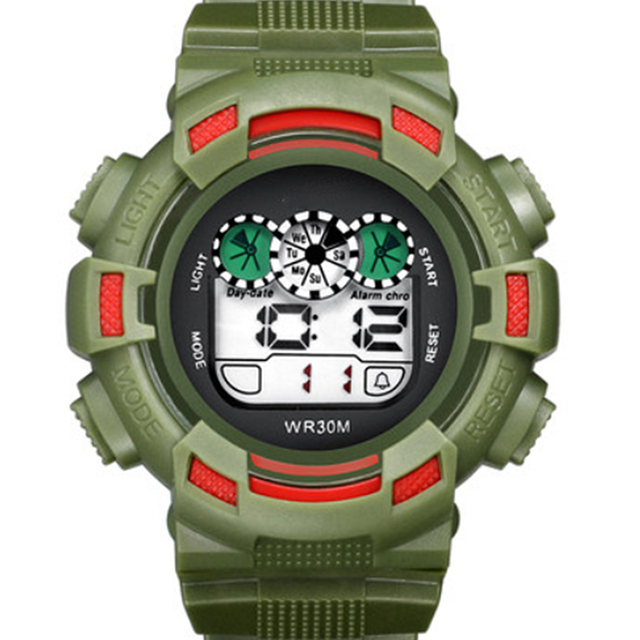 Brand cheap Outdoor sports fashion LED electronic watch for men