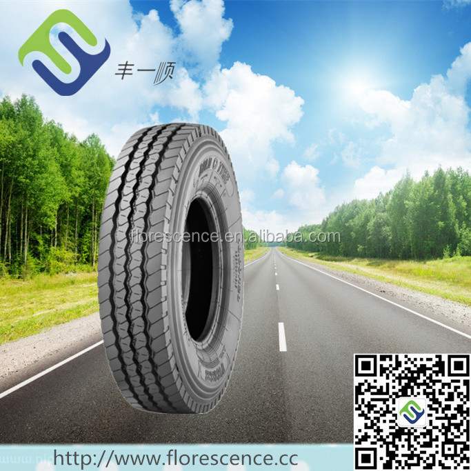 Block pattern 12R22.5 radial tires for bad road