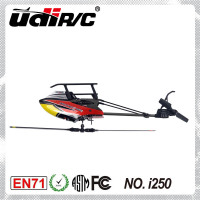 UDIRC I250 Single Rotor Blade (Flybarless) Electric 6CH model hobby rc