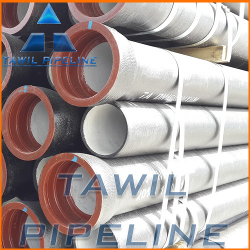 TAWIL ductile cast iron pipe k9, ductile iron pipe specification,cut ductile iron pipe
