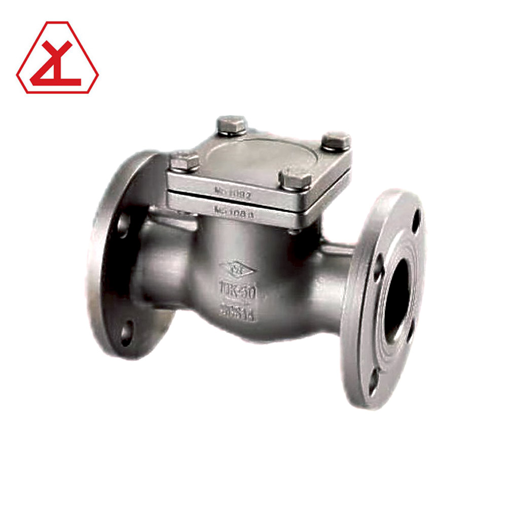 1 INCH 600 PSI STAINLESS STEEL FLANGE END AIR COMPRESSOR check valve
