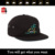 high quality cotton fabric snapback cap hats embroidery designs