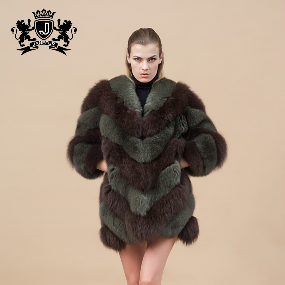 beauty girl oversize fluffy winter real fox fur faux fur parka coat for uk