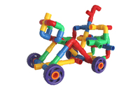 DPG008 kids water pipe plastic blocks