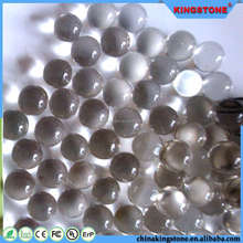Trade assurance manufacturer 11-19mm iridescent glass balls,mix order wedding decorative glass balls