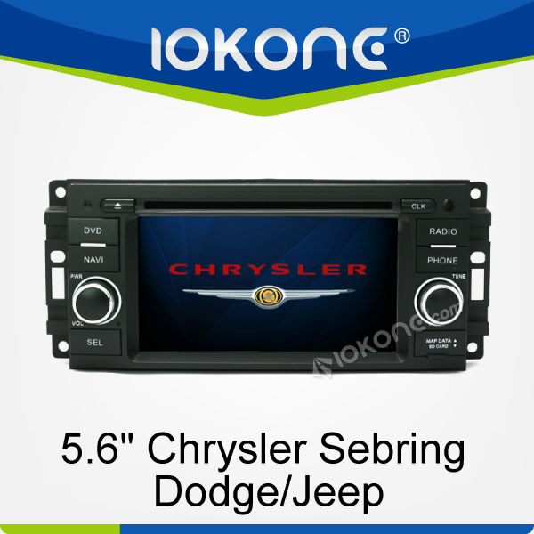 6.2'' HD GPS navigation Touch screen Car DVD player for Chrysler Sebring/Dodge/Jeep