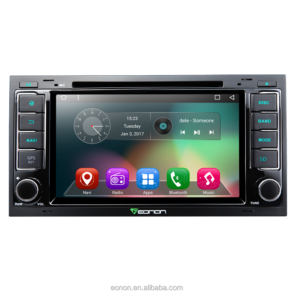 EONON GA7202 for Volkswagen/SEAT/Skoda Android 6.0 Quad-Core 8 inch Multimedia Car DVD GPS with Mutual Control EasyConnected