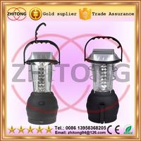 handheld 36 LED Solar Powered camping Lantern Handcrank Emergency Camping Light USB output 3*AAA Alkaline battery