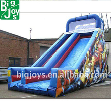 2011 motorcycle race boy inflatable caslte slides