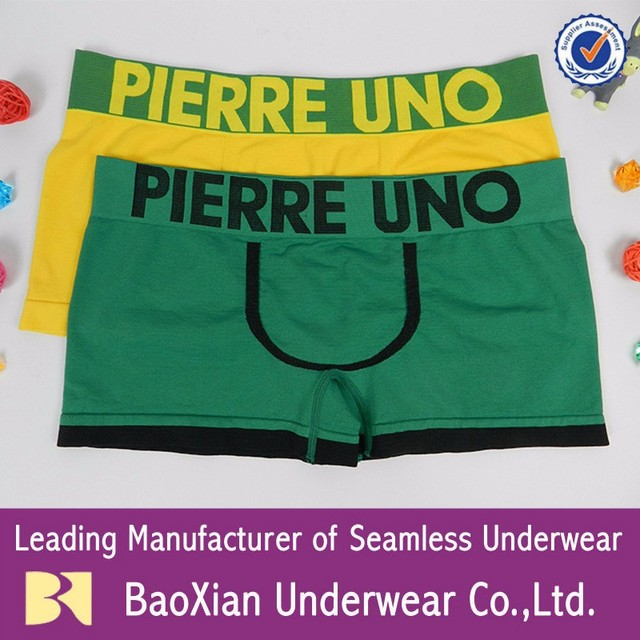 mens seamless underwear OEM BIG boys boxers briefs undergarments Good Healthy breathable china factory