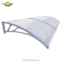 hot sale clear customizedluxury shelter awning for balcony
