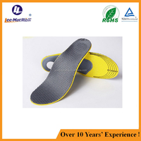 Wholesale new style sports orthotic insoles orthotic insole with size cutting line insoles for sports shoes