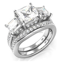 Fashion Clear AAA CZ Stone Finger Ring For Women OSSR0789