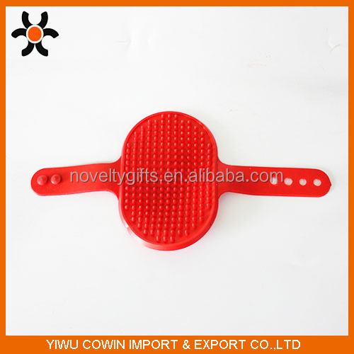 Cleaning Brush Comb For Dogs Cats Rubber Glove Pets Grooming Bath Colorful Pet Products