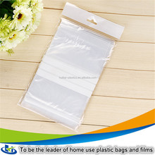 High quality ziplock bag Leak proof Shop bags reusable perforated bubble packaging ziplock bags