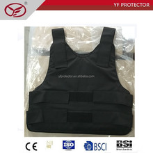 Army level IIIA undercover ballistic vest with aramid material