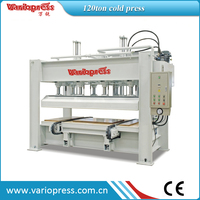 woodworking cold press machine with chain
