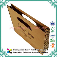 Big manufacturers Recycle eco friendly brown paper bag shopping white flat handle kraft paper bag