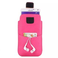Lychee Leather Pouch Belt Clip Holster Case for Samsung Galaxy Note 3 4 S4 I9500