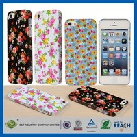 Best selling sublimation plastic bumper for new iphone5 bumper case