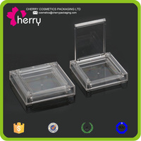 Acrylic empty compact case empty compact powder case transparent compact case