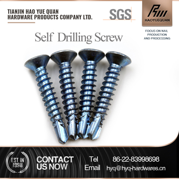 Factory supply high strength countersunk head self drilling screws