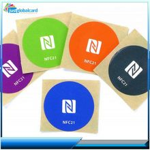 Rewritable topaz 512 nfc rfid tag sticker