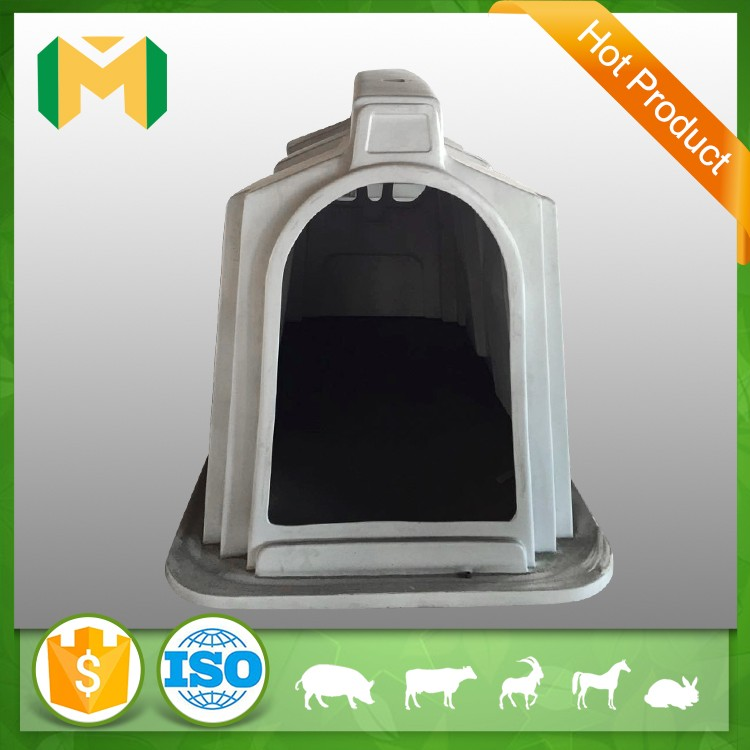 Animal livestock customized house plastic calf hutch with roof
