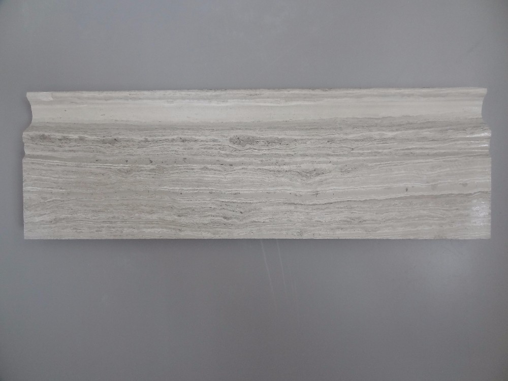 Polished White <strong>Oak</strong> Marble Molding