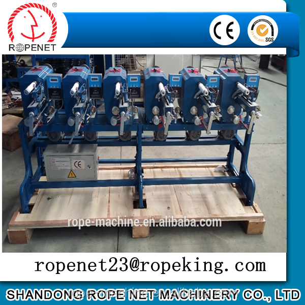 new twine/yarn/ribbon spooling winder machine