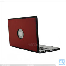 For macbook pro 13.3 case covers pu leather pc back cover