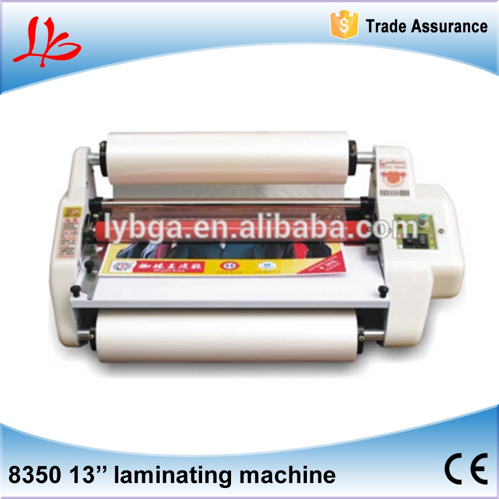 "Factory price 13"" Laminator Four Rollers Hot Roll Laminating Machine"