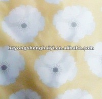 polyester flower printing fabric for home textile