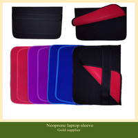 Customized flip style neoprene shockproof case for tablet neoprene laptop sleeve OEM ODM provide