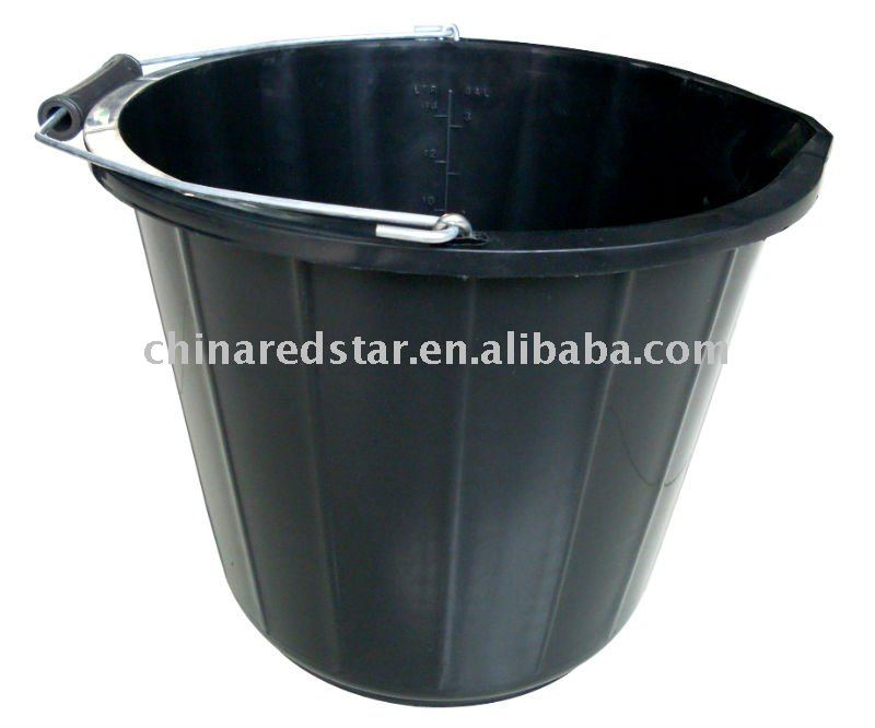 Rubber Horse Feed Bucket