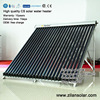 Three target heat pipe vacuum tube solar collector for Germany market
