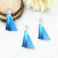 New arrival DIY resin princess for phone case hair home resin crafts