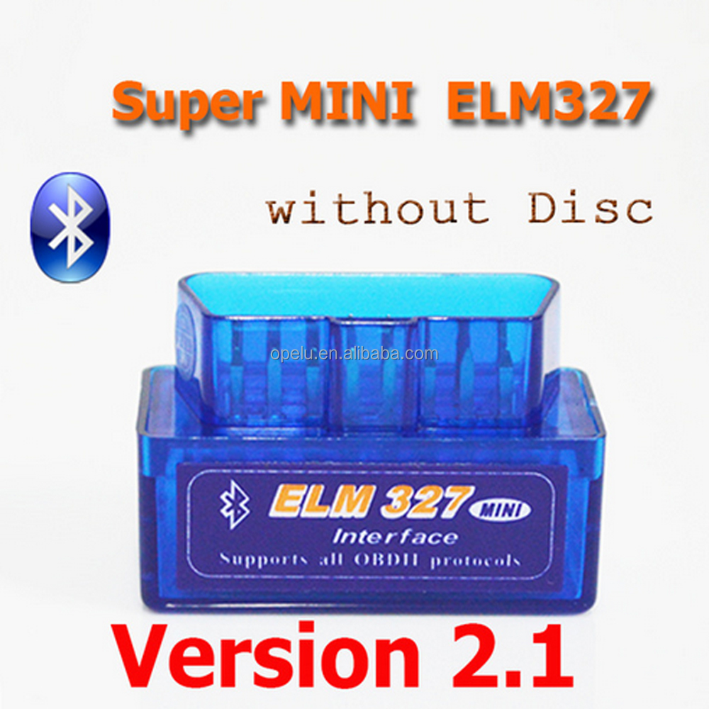 Super Mini ELM327 Bluetooth v2.1 Android OBD diagnostic for cars