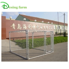 Hot dip galvanized chain link dog kennel wholesale