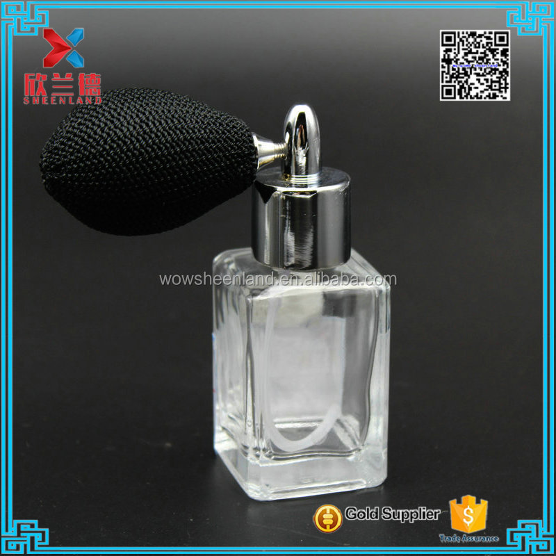 small rectangle mist spray glass perfume bottles perfume bottle with gasbag