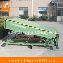 China stationary hydraulic dock leveler with DCQ6-0.6